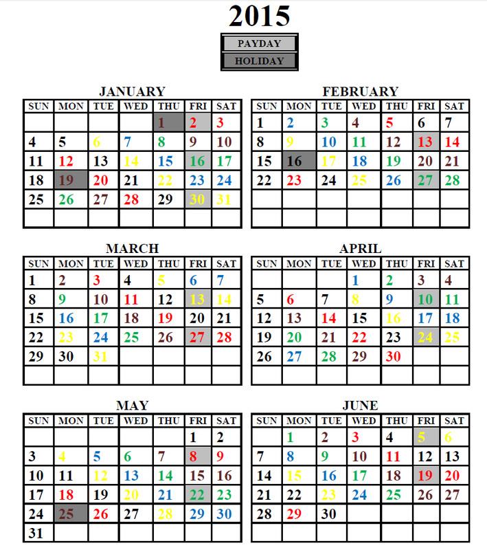 Calendar Of Events NALC Branch 2130